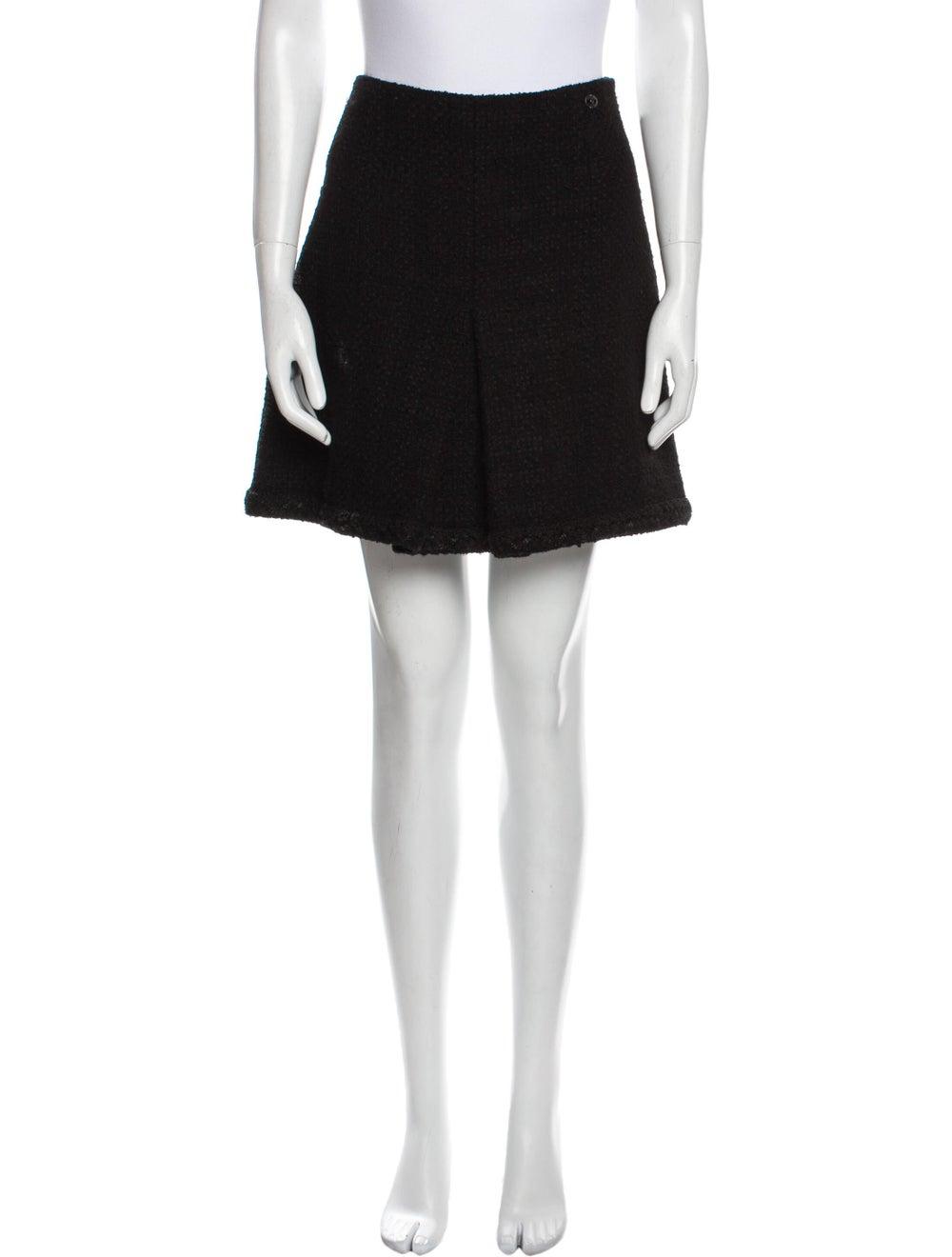 Chanel 2013 Mini Skirt Wool - image 1
