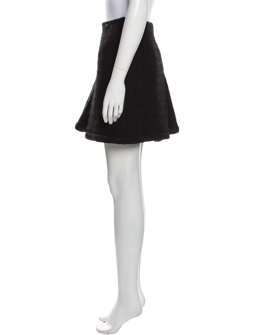 Chanel 2013 Mini Skirt Wool - image 2