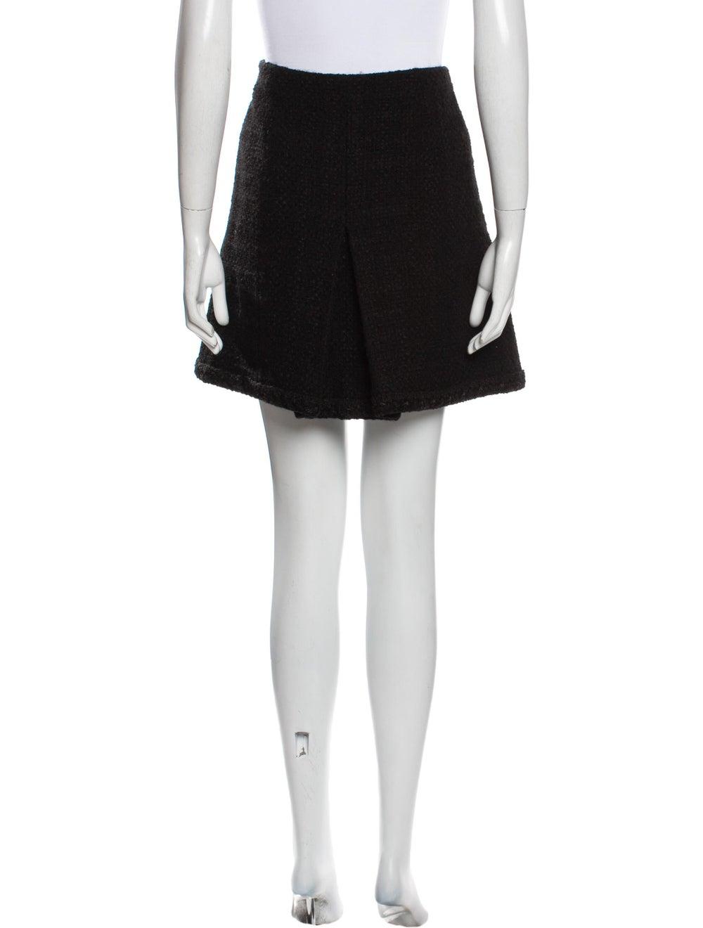 Chanel 2013 Mini Skirt Wool - image 3