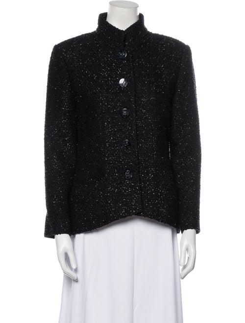 Chanel 2019 Printed Evening Jacket Black
