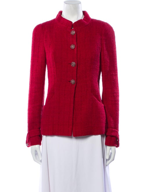 Chanel 2012 Evening Jacket Red