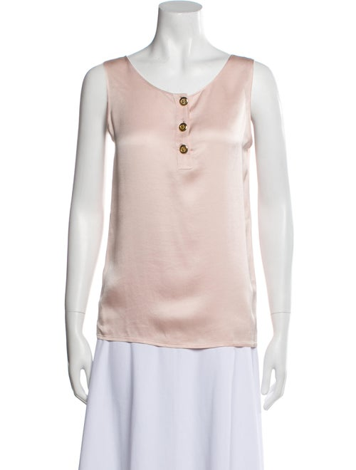 Chanel Vintage Late 1980's - Early 1990's Top Pink