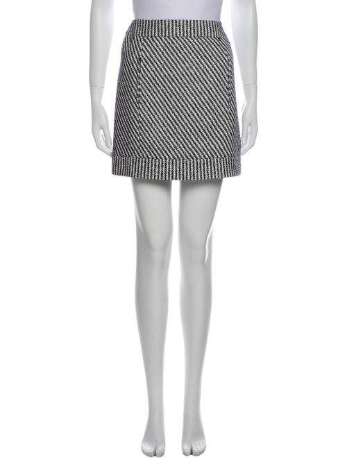 Chanel 2016 Mini Skirt White