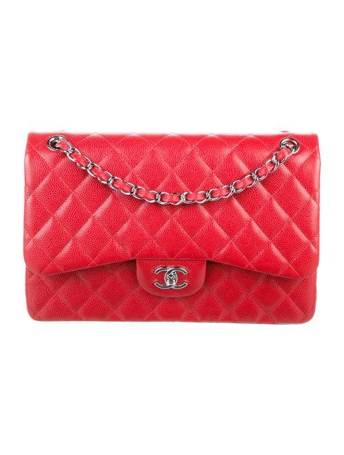 Chanel Classic Jumbo Double Flap Bag Red