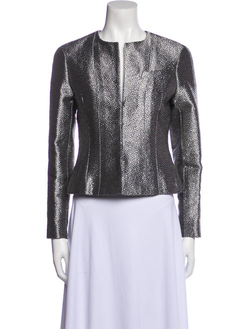 Chanel Vintage 2003 Evening Jacket Silver