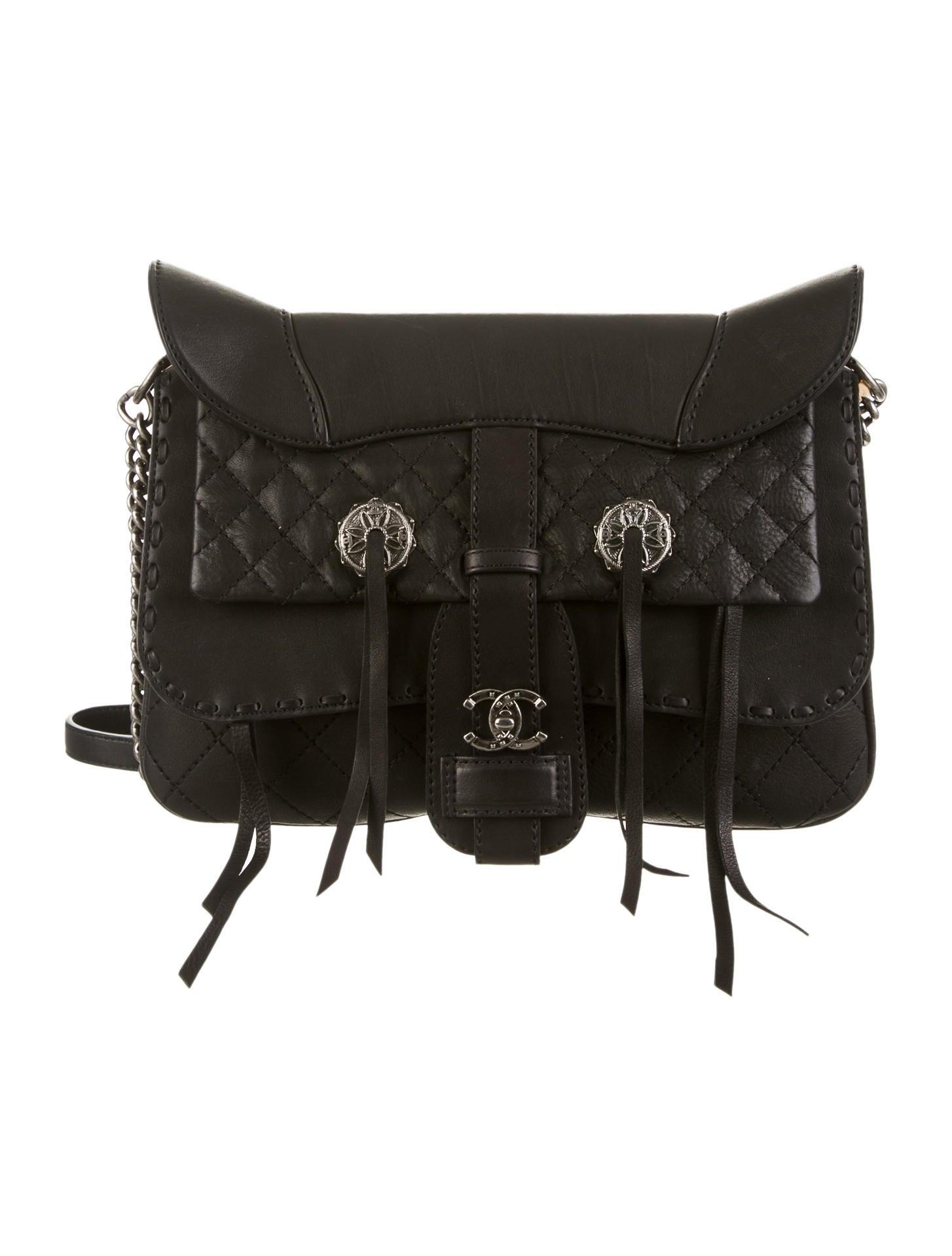 Paris Dallas Fringe Saddle Bag