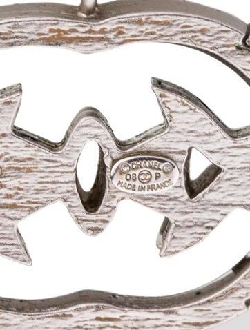 Crystal CC Pendant Necklace