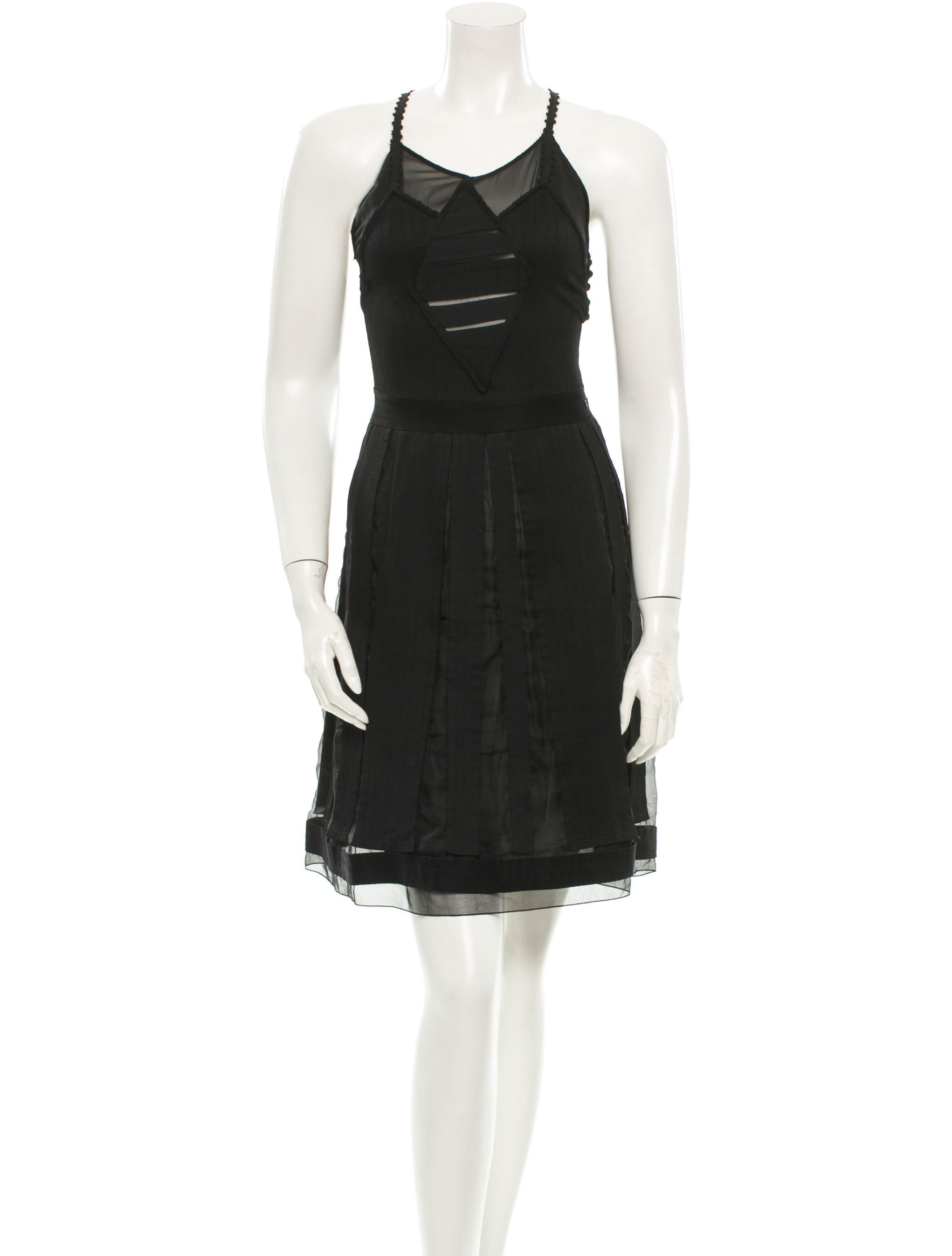 chanel vintage dress clothing cha65659 the realreal