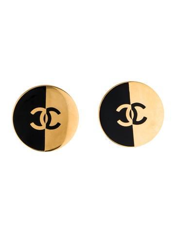 Vintage CC Earrings