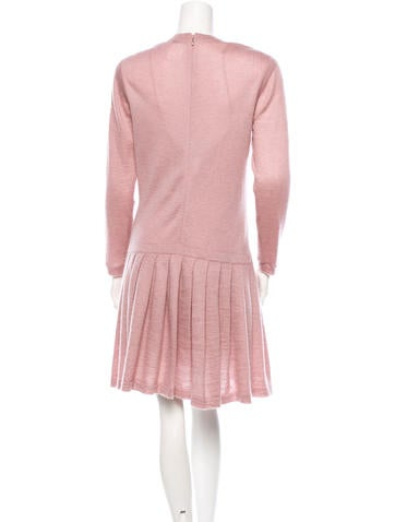 Embellished Mohair Dress