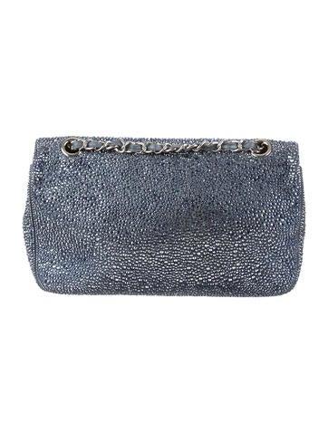Diamante Flap Bag