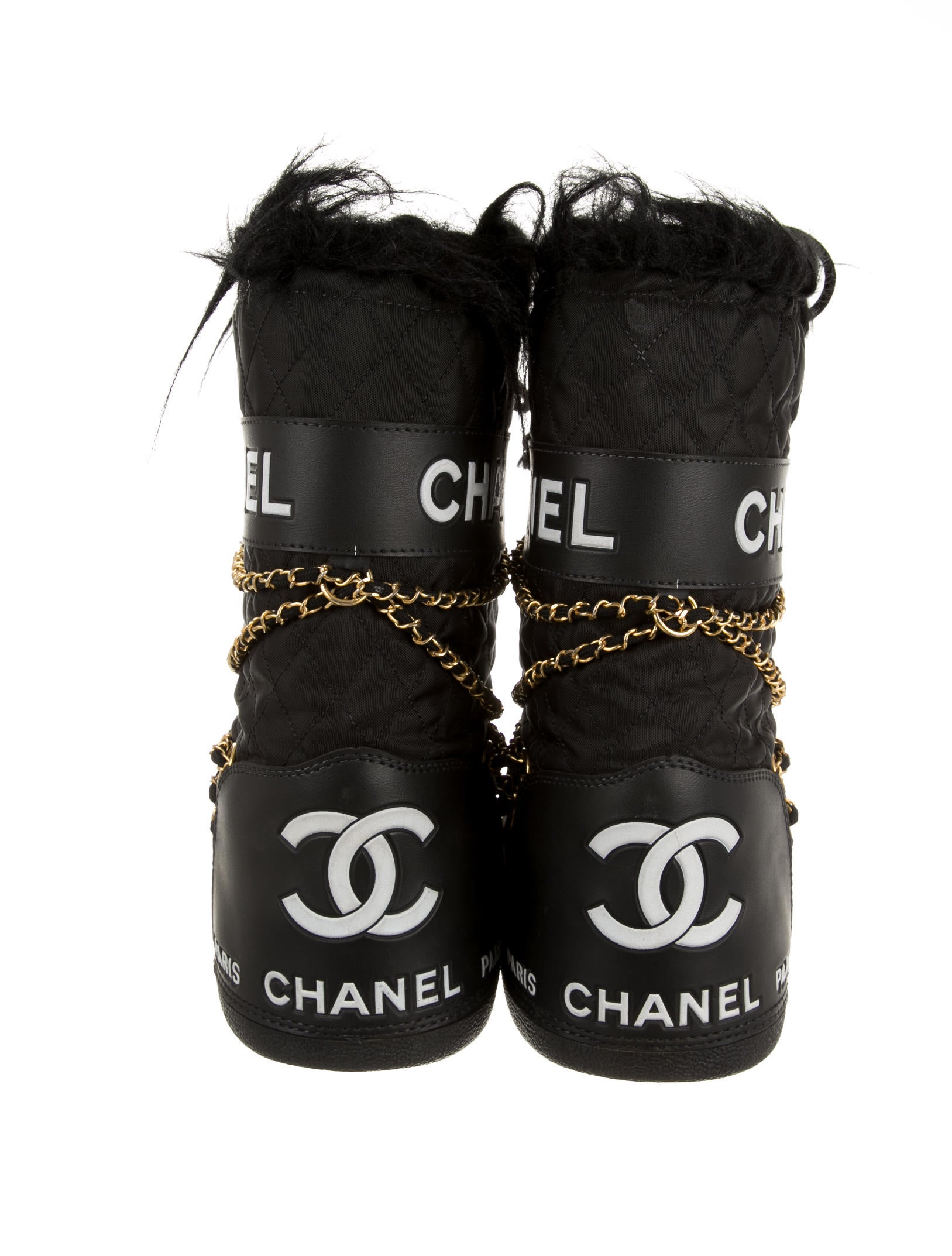 Chanel Moon Boots Shoes Cha71532 The Realreal