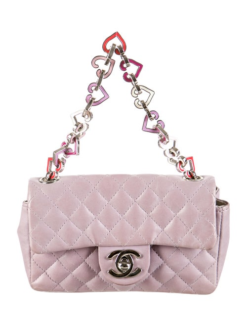 e300d633cd70 Chanel Mini Valentine Flap Bag - Handbags - CHA73557 | The RealReal