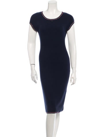 Chanel Rib Knit Dress None