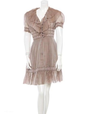 Chanel Silk Dress None