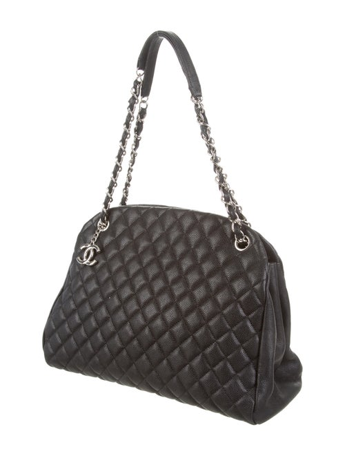 1df8ac8c6fd20e Chanel Caviar Just Mademoiselle Large Bowling Bag - Handbags ...