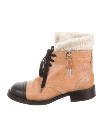 Cap-Toe Ankle Boots