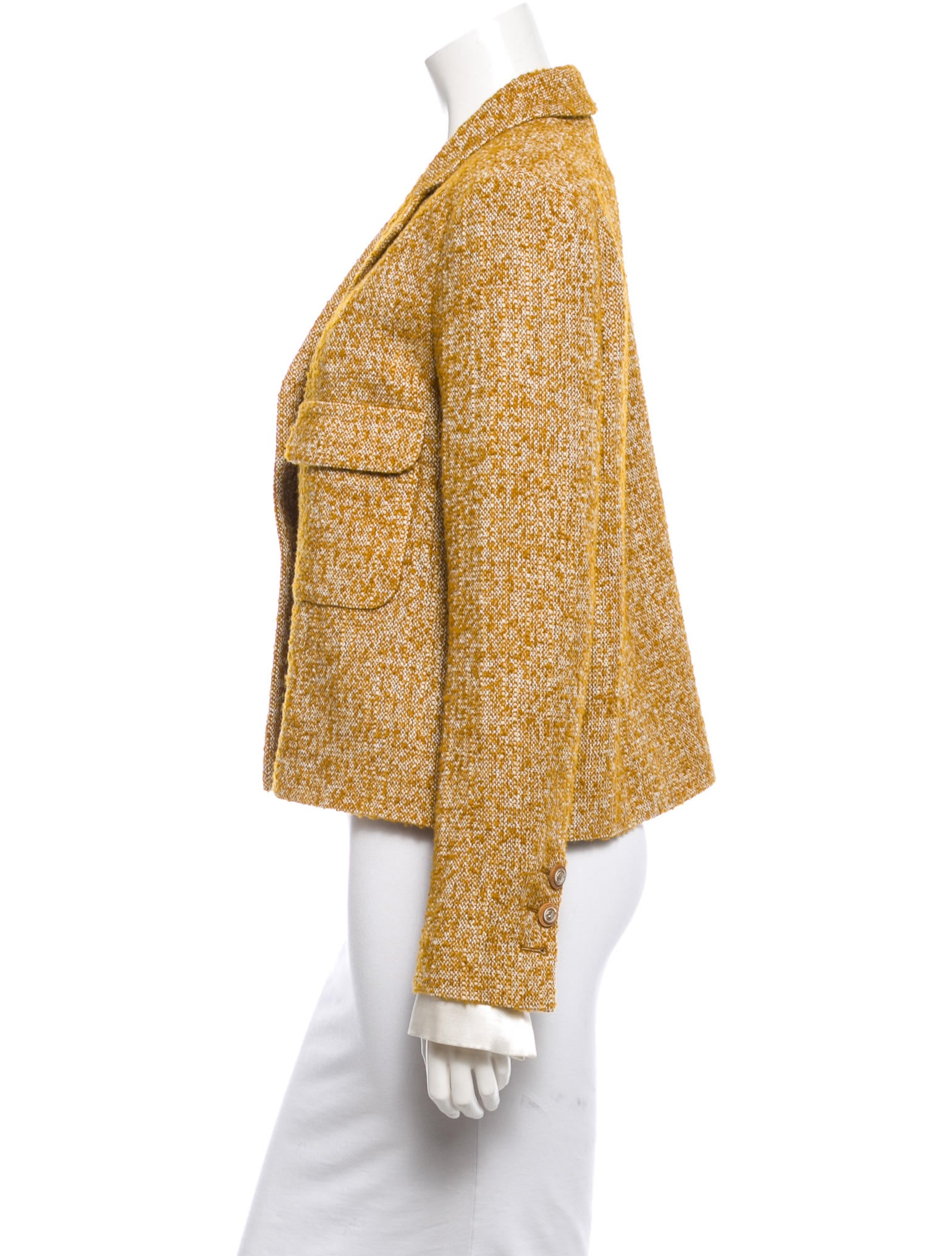chanel fall 2014 wool boucl233 jacket w tags clothing