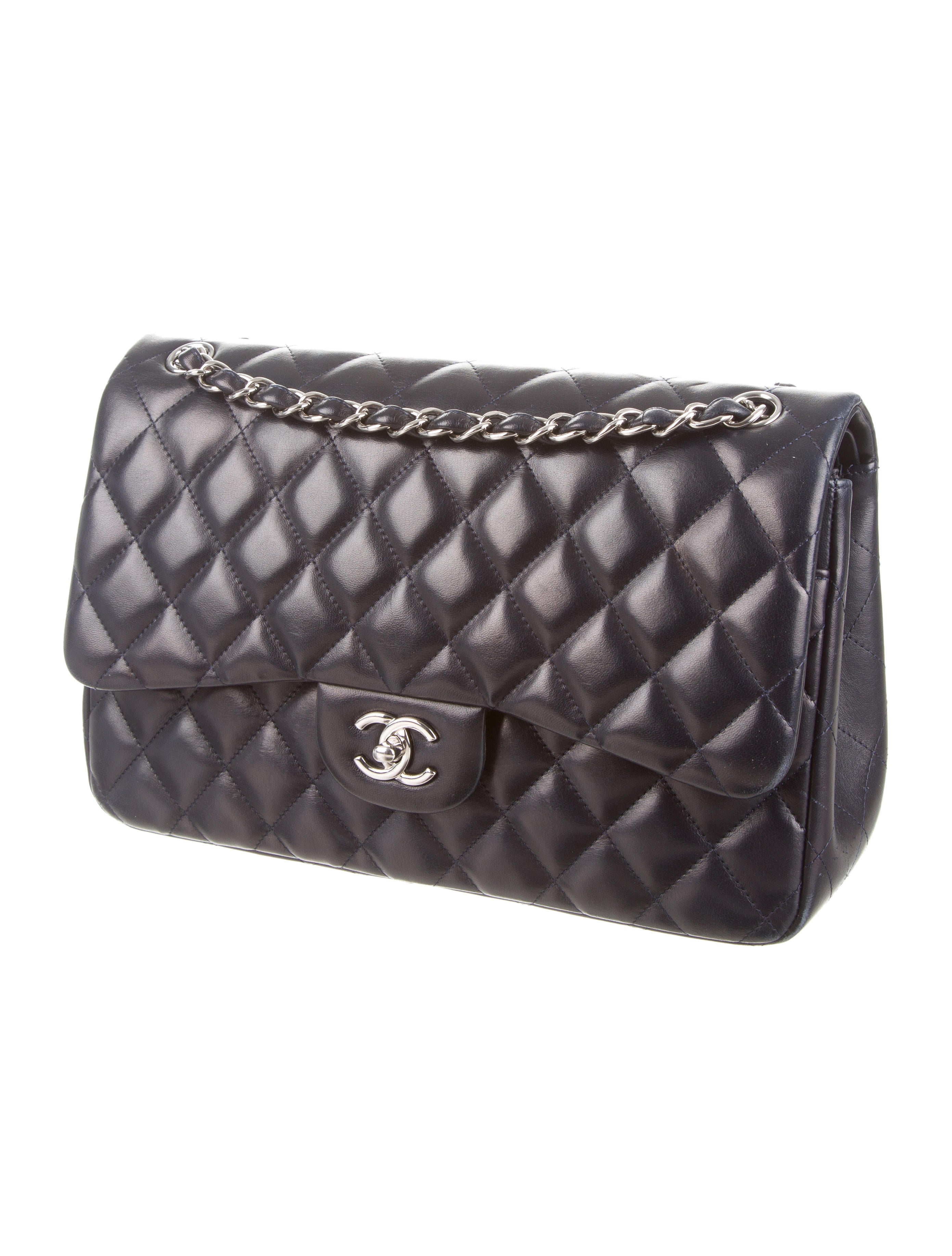 53480dce9b80dc Chanel Women's Classic Jumbo Flap Bag A01113 | Stanford Center for ...