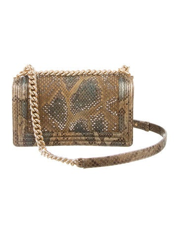 Medium Versailles Python Boy Bag