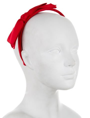 Satin Bow Headband w/ Tags