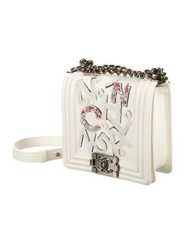 Chanel No 5 Graffiti Boy Bag