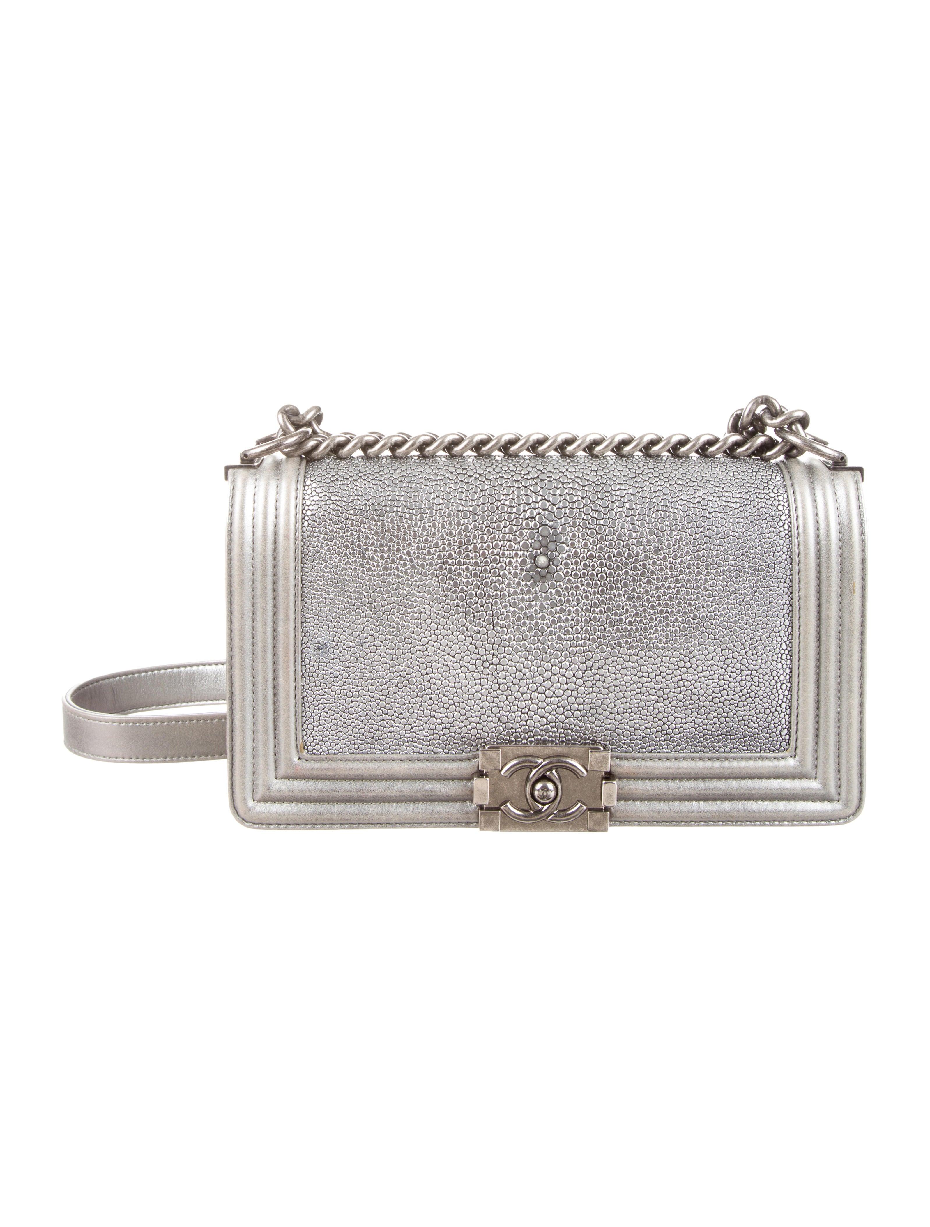 a013914b224328 Chanel Medium Stingray Boy Bag - Handbags - CHA85819 | The RealReal