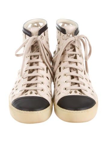 Round-Toe Sneakers