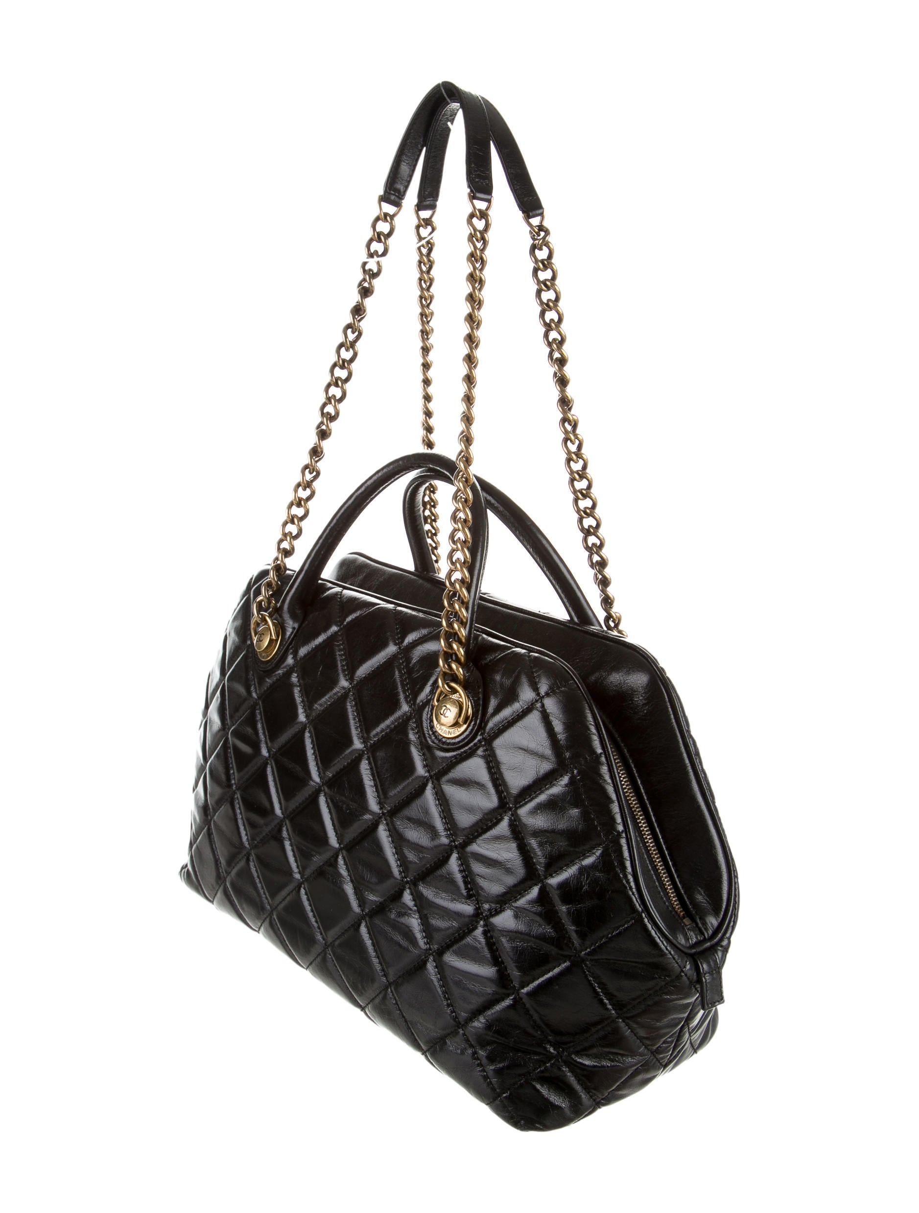 Chanel Quilted Castle Rock Satchel - Handbags - CHA87854 | The ... : quilted castle - Adamdwight.com