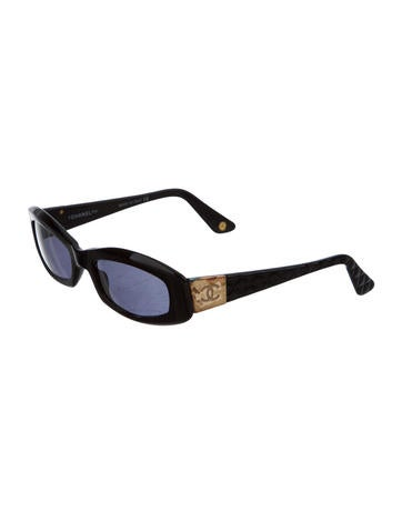 Vintage Quilted CC Sunglasses