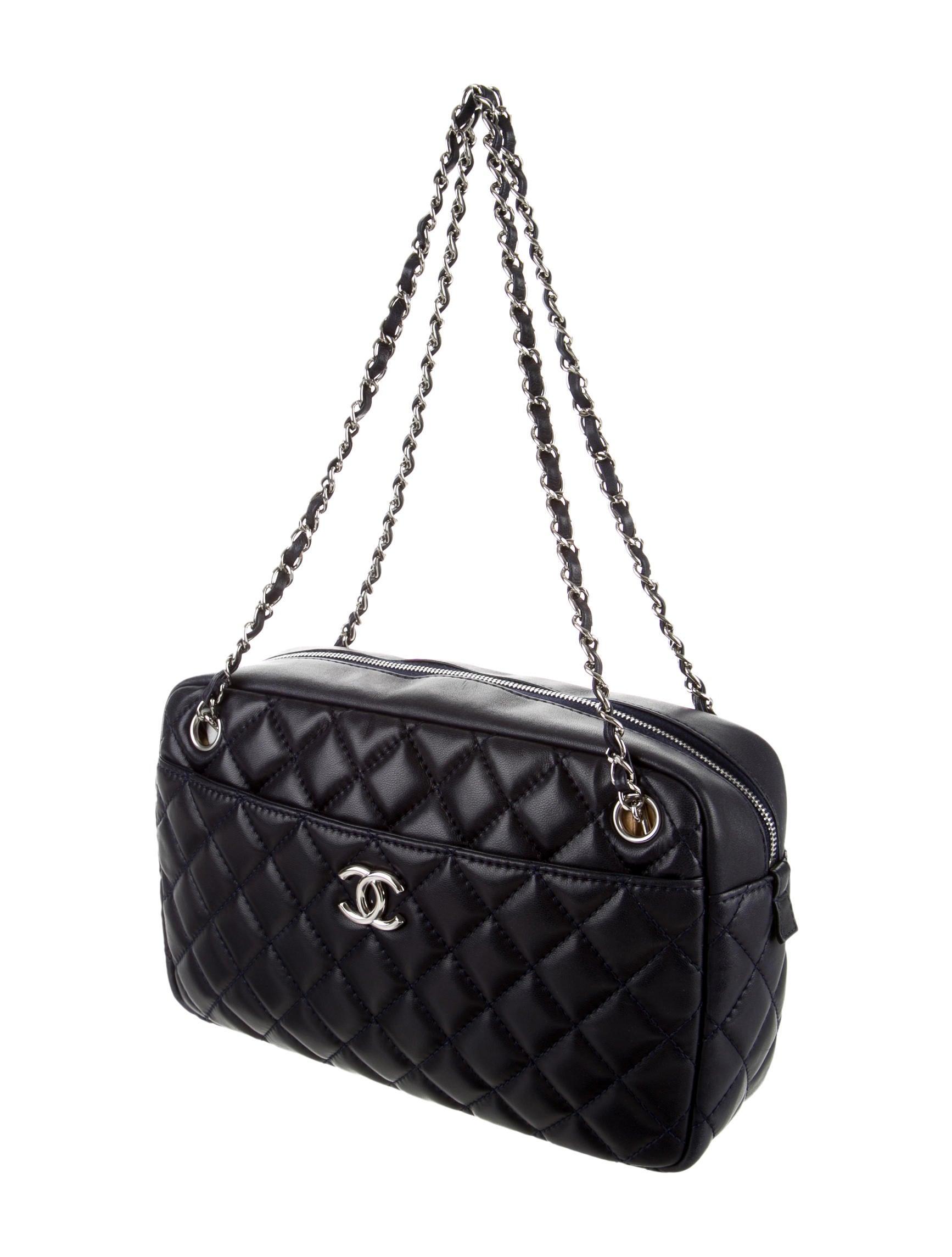 Chanel Quilted Medium Camera Bag