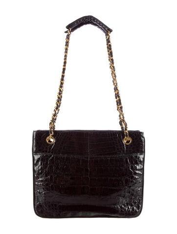 Vintage Crocodile Shoulder Bag