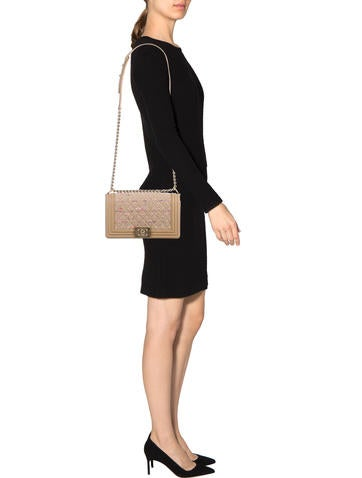 Medium Tweed Boy Bag