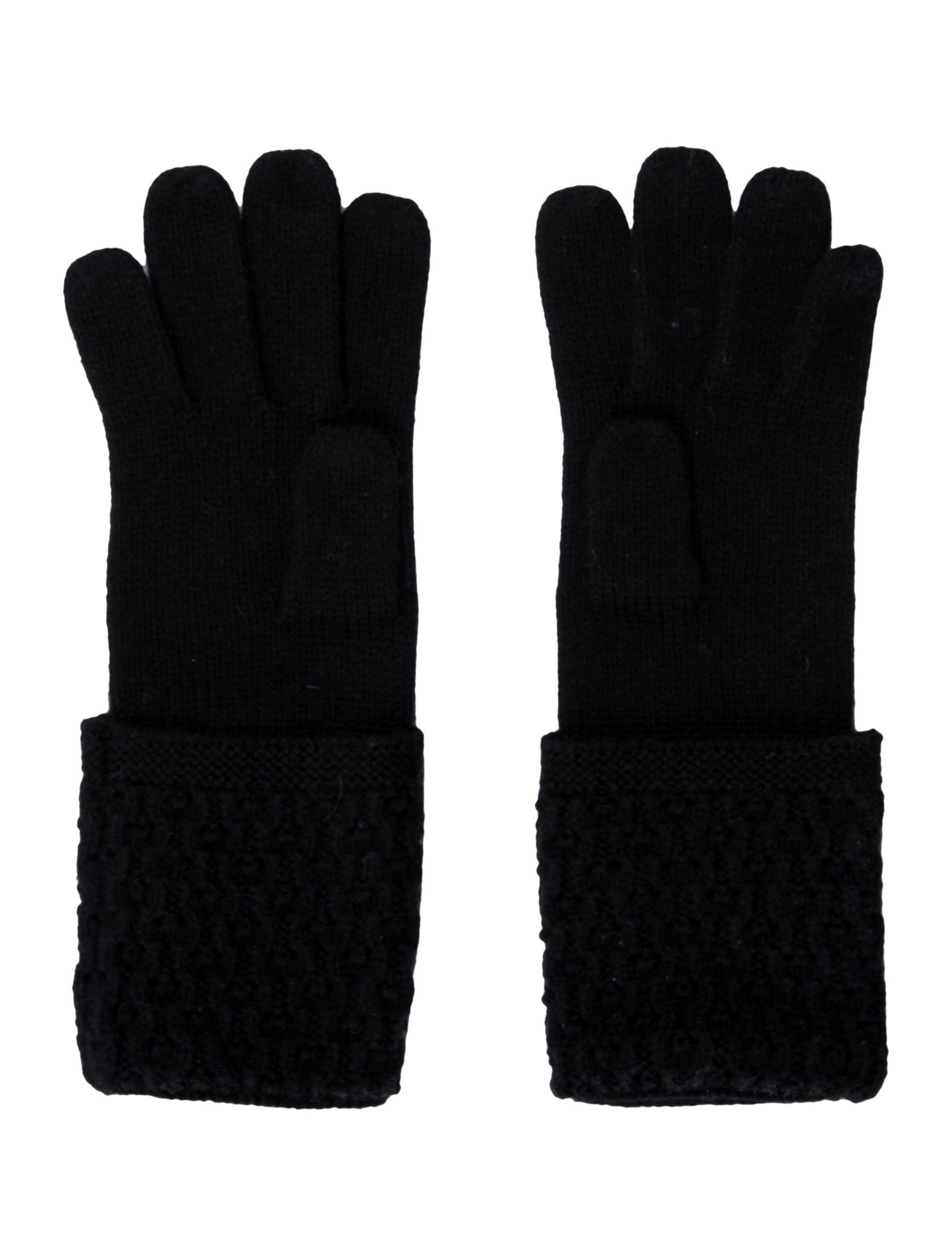 Chanel Cashmere Logo Gloves - Accessories - CHA93566 | The ...