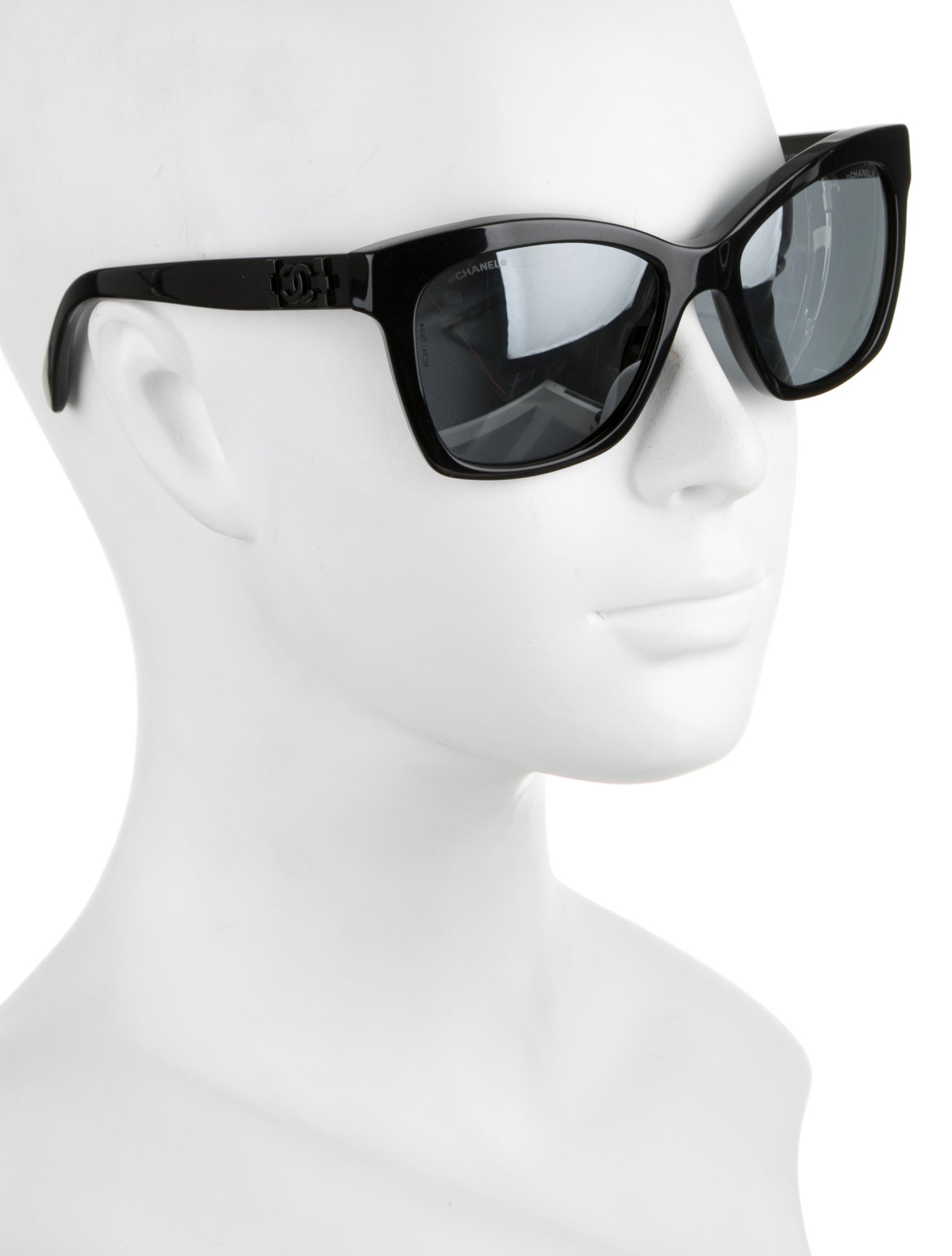 Chanel Erfly Acetate Sunglasses  chanel erfly signature sunglasses w tags accessories