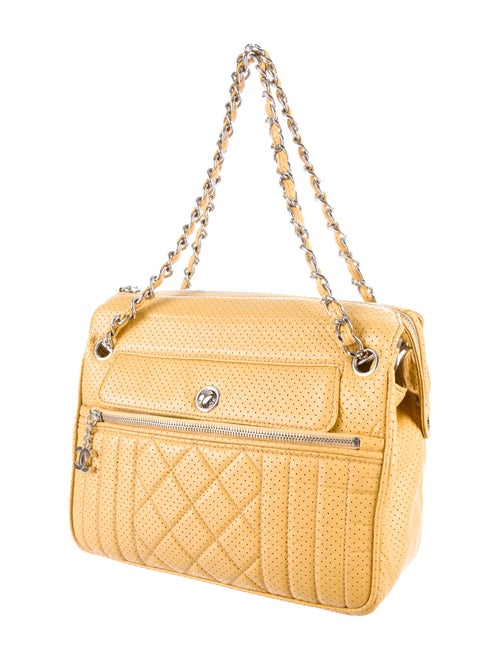 925c69726817 Chanel Perforated 50's Tote - Handbags - CHA94649 | The RealReal