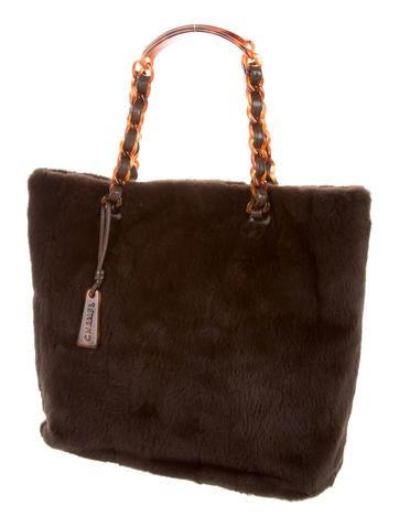 Rabbit Fur Bag