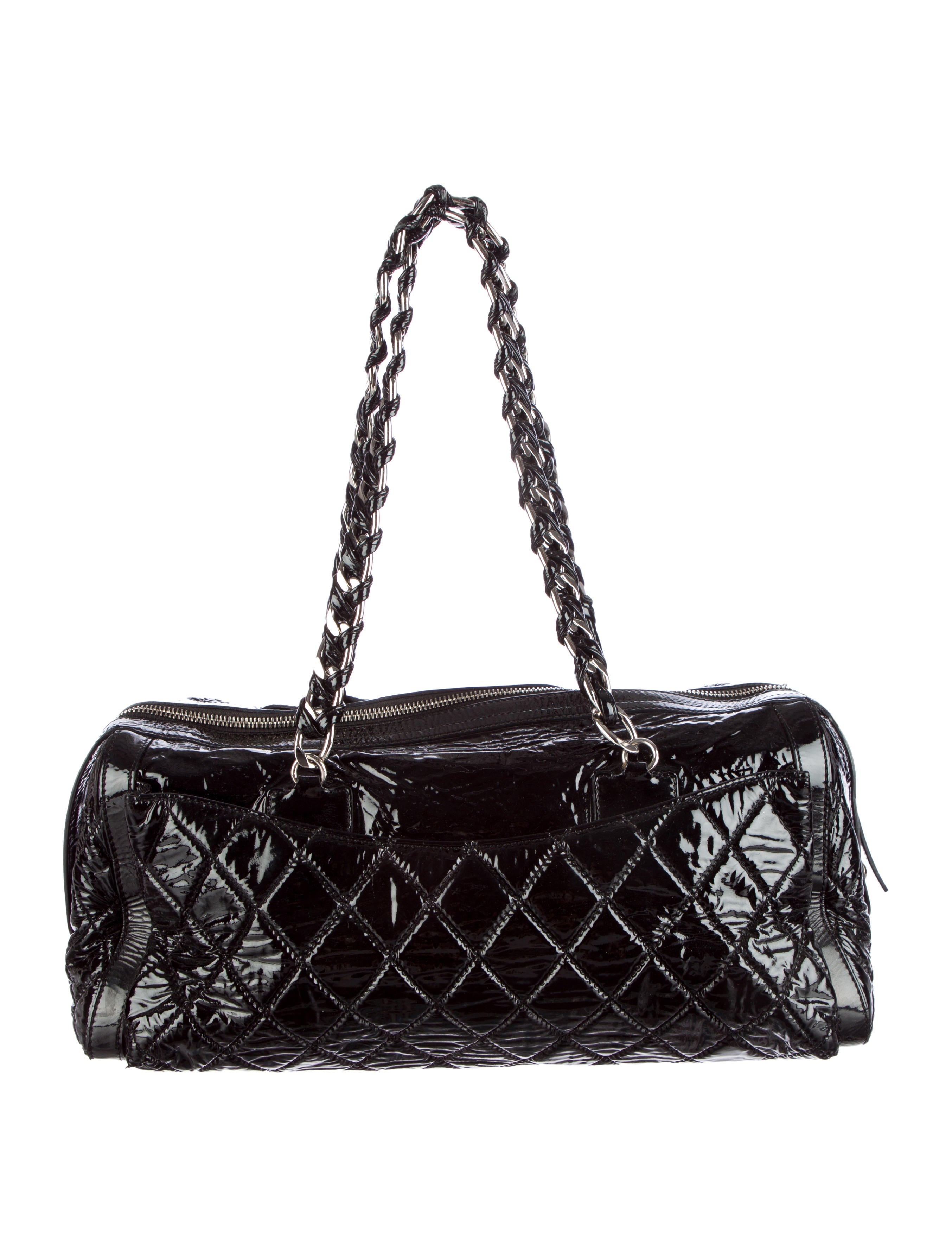 Chanel Quilted Vinyl Flap Bag Handbags Cha95007 The