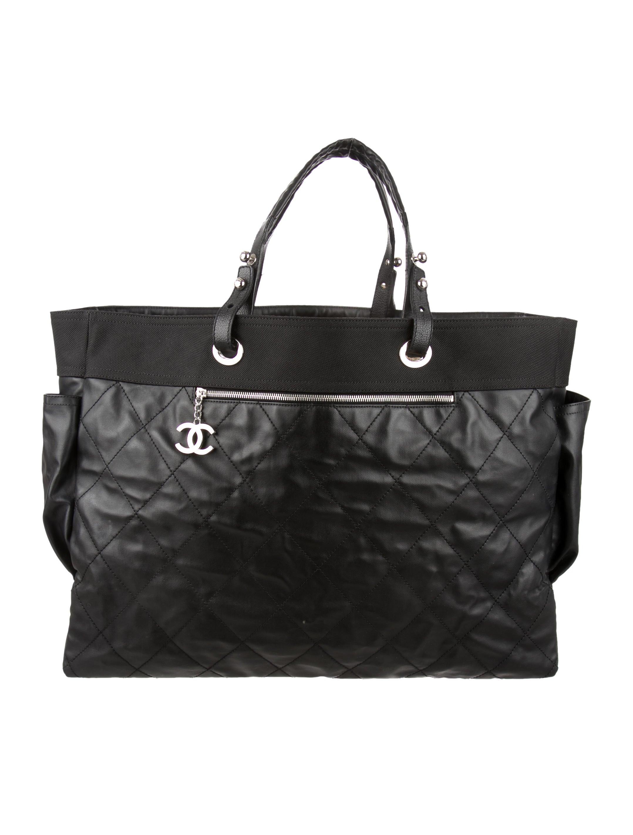 e4a3d66ea573 Chanel Paris-Biarritz XL Tote - Handbags - CHA95163 | The RealReal