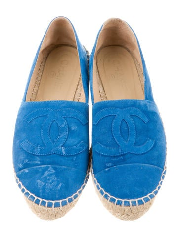 Suede Espadrille Flats