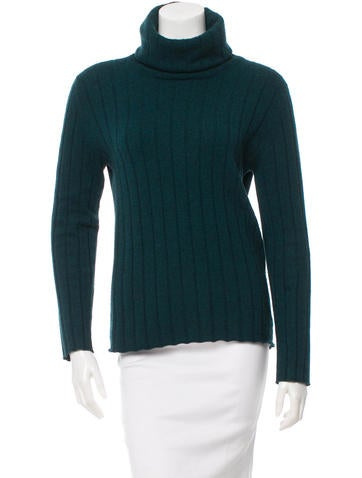 Chanel Cashmere Turtleneck Sweater None