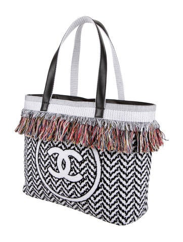 Extraordinary Fringe Beach Tote