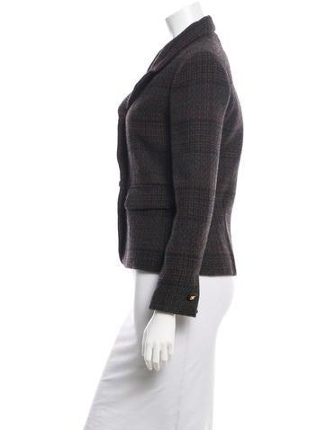 Tweed Wool Blazer