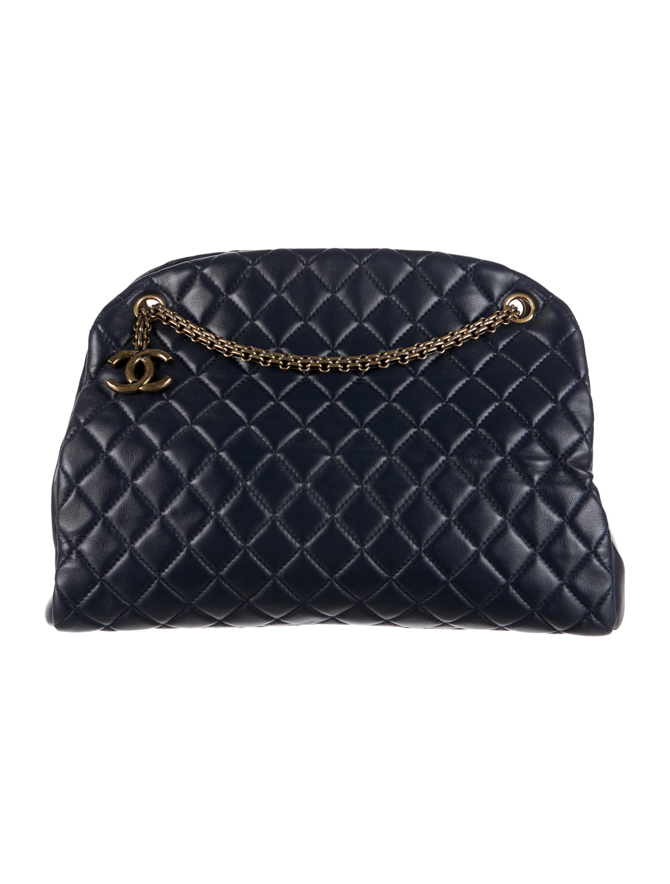 9a8036bd9eaa Chanel Just Mademoiselle Large Bowling Bag - Handbags - CHA98052 ...