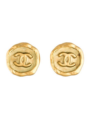 CC Wax Seal Earrings