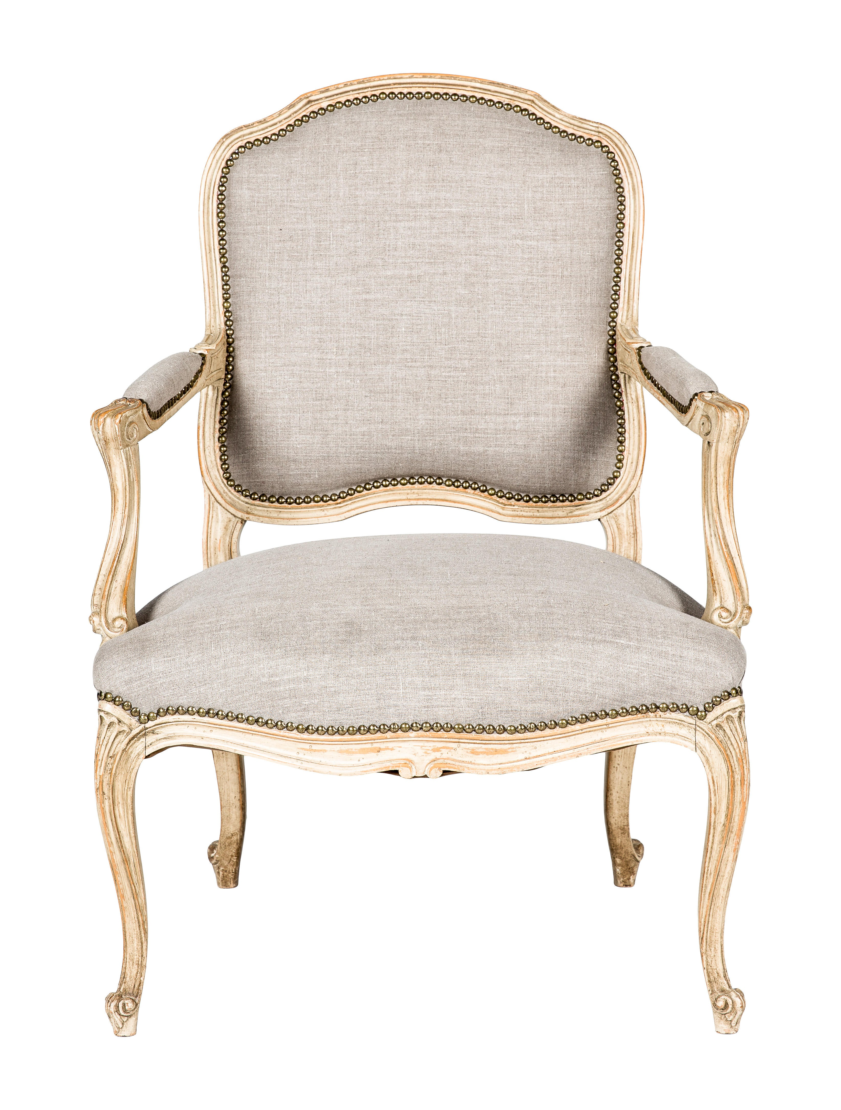 Chair louis xv style accent chairs furniture chair20046 the realreal - Louis th chairs ...