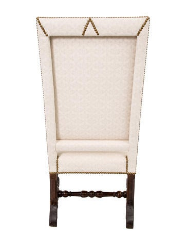 Upholstered Highback Armchair
