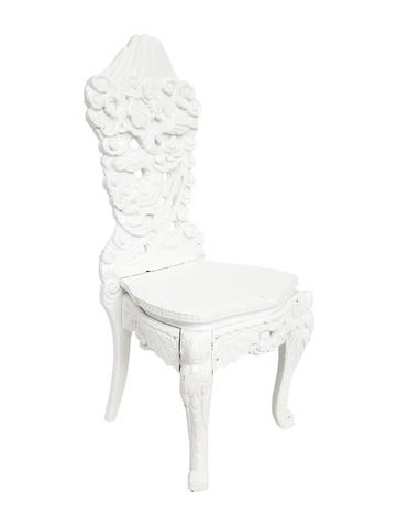 Dragon-Inspired Accent Chair