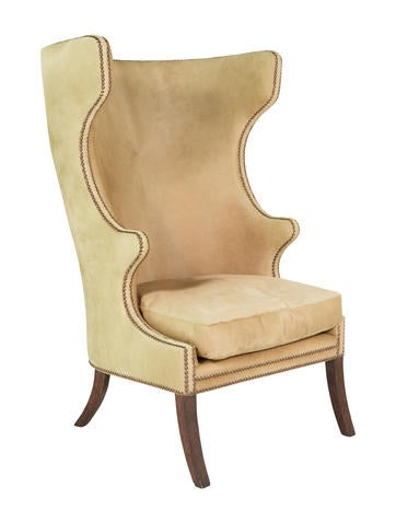 Dennis & Leen Cowhide Accent Chair