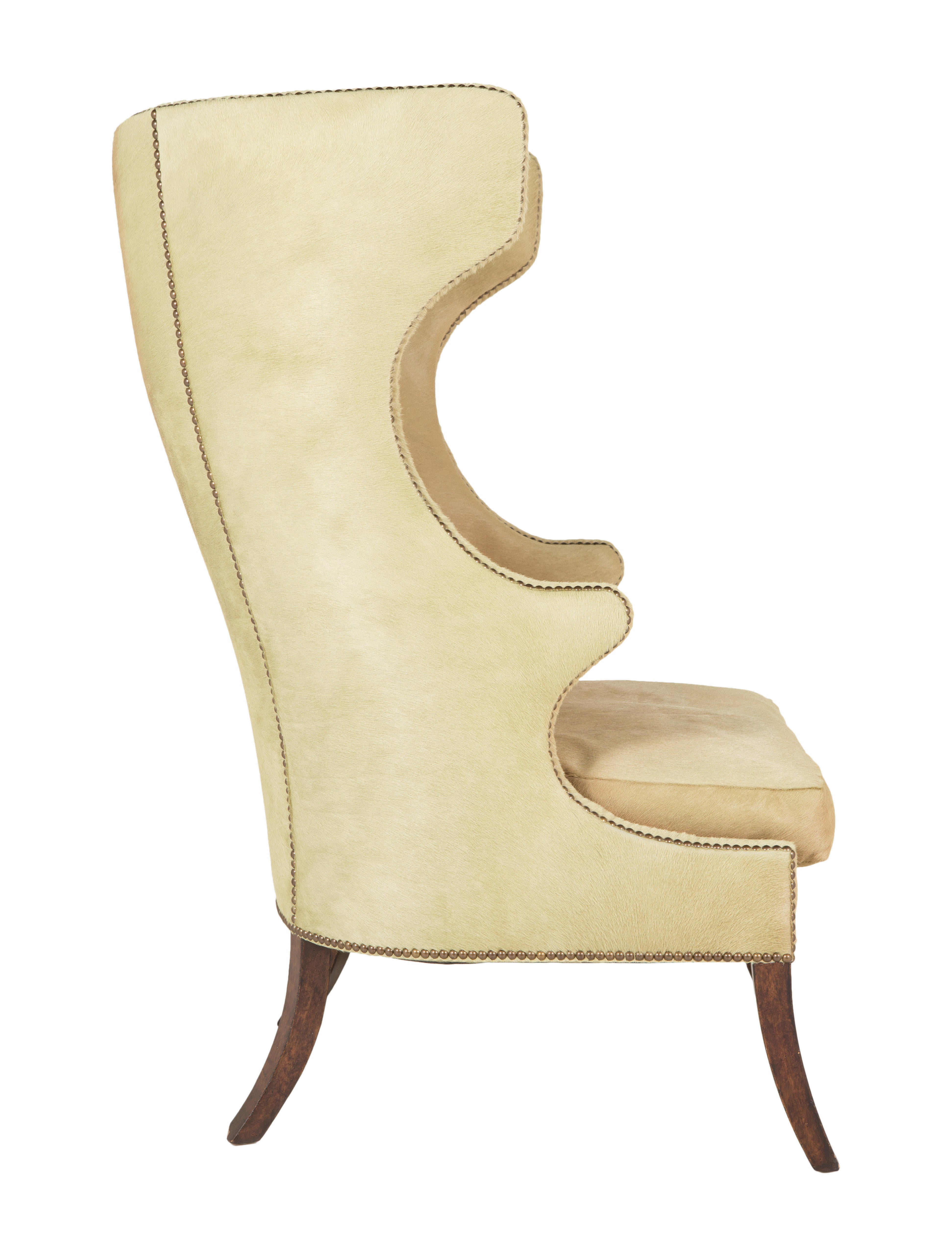 Dennis & Leen Cowhide Accent Chair Furniture CHAIR
